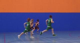 Trobada de l'Escola de Bàsquet amb el CBF Viladecans